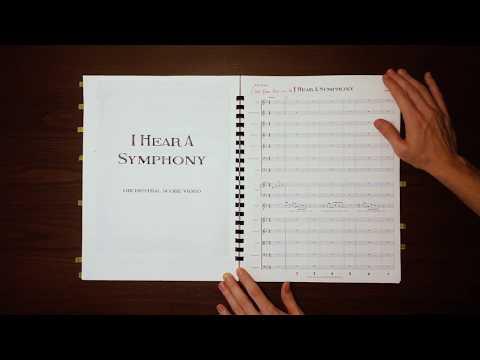 I Hear A Symphony - [Score Video]