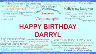 Darryl   Languages Idiomas - Happy Birthday