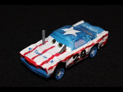 Mattel Disney Cars 3 Cigalert American Patriotic Demolition Derby
