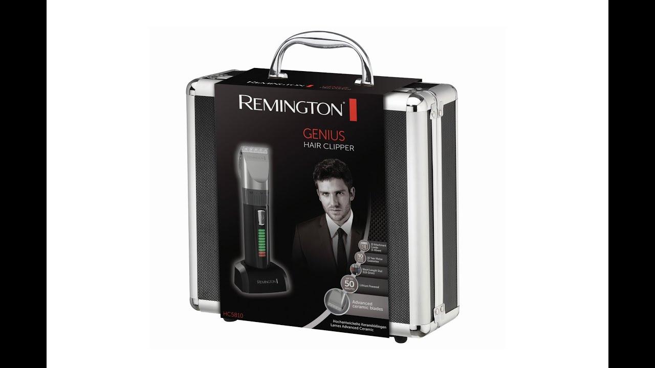 remington rem hc5810 unboxing youtube. Black Bedroom Furniture Sets. Home Design Ideas