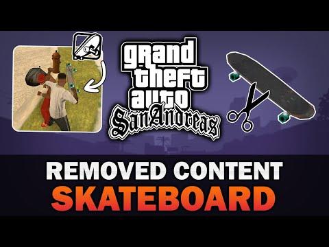 GTA San Andreas - Cut Skateboard [Analysis] [Mod in the description]