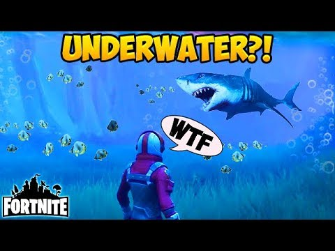 UNDERWATER on FORTNITE? - Fortnite Funny Fails and WTF Moments! #134 (Daily Moments)