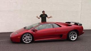 Lamborghini Diablo была самой безумнейшей машиной 1990-х