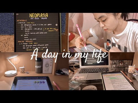 MED SCHOOL FROM HOME: Day In The Life Of A Med Student During Lockdown (study Vlog)