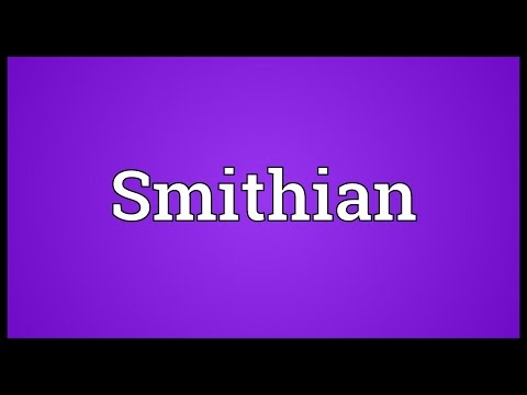 Smithian Meaning