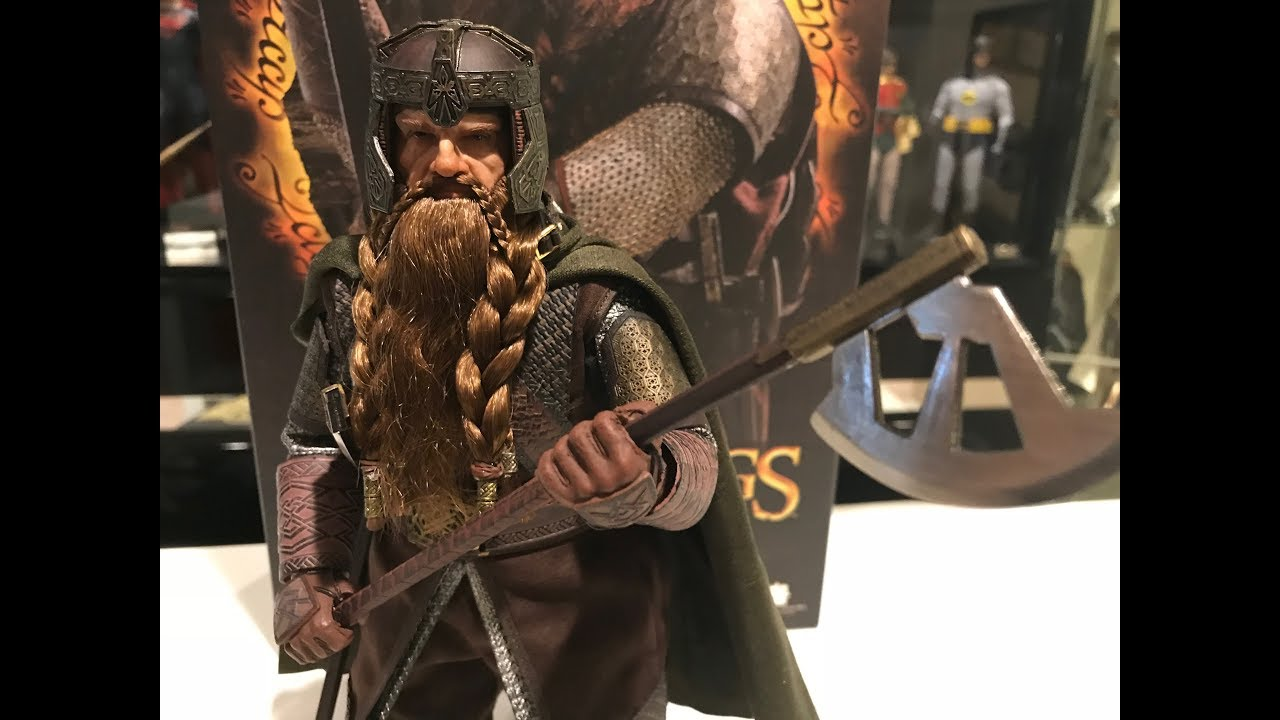 IN STOCK 1//6 Lord of the Rings Gimli Figure USA Asmus Toys Hot Frodo Aragorn