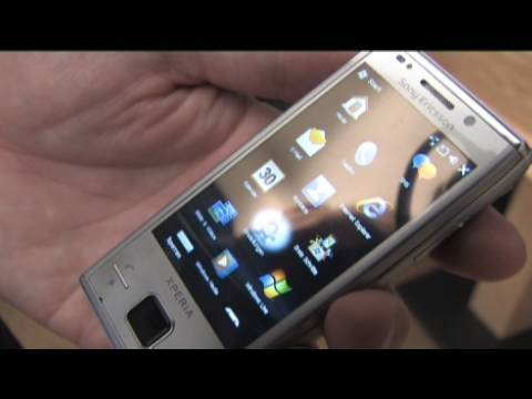 Sony Ericsson Xperia X2, X10 und Pureness im Test