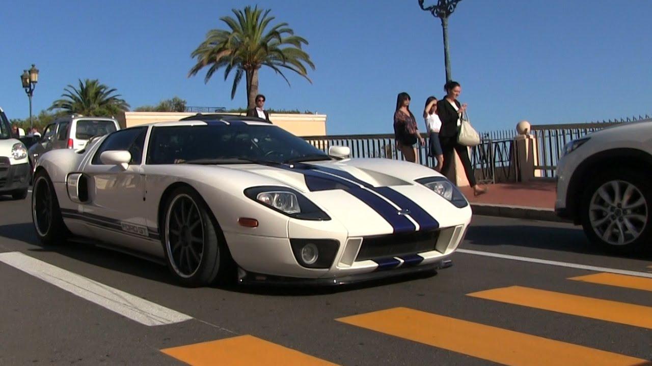 Kuwaiti Ford Gt In Monaco Revs Acceleration Detailshots