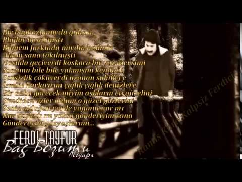 Ferdi Tayfur - Bağ Bozumu (Altyapı & Karaoke) 2015