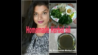 HOMEMADE Herbal OIL for Faster & Extreme Hair Growth & 100%Effective|Beauty withrovina