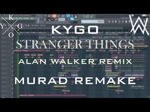 (Alan Walker Remix) Kygo - Stranger Things [FL STUDIO FULL REMAKE/INSTRUMENTAL] +FREE FLP!