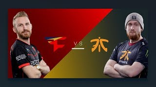 CS:GO - FaZe vs. Fnatic [Mirage] Map 1 - Semifinal - ESL Pro League Season 6 Finals