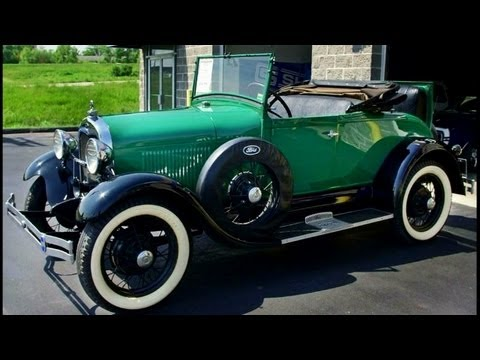 1929 Ford Model A Roadster - Rumble Seat