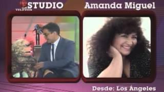 Amanda Miguel en entrevista con Osman Aray. La Bomba - Televen. Álbum 80-15