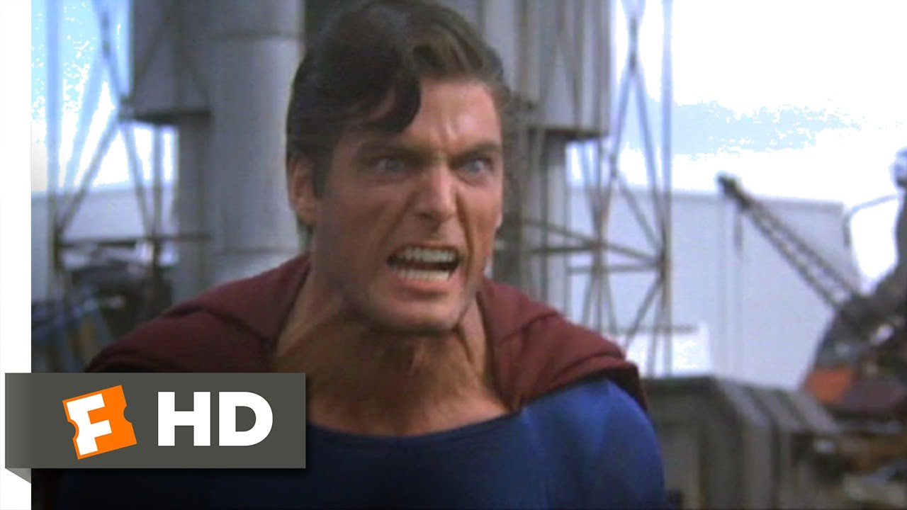 Superman III (6/10) Movie CLIP - Superman vs  Clark Kent (1983) HD