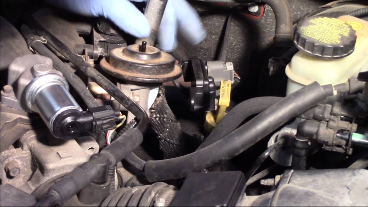 EGR Valve Replacement  Ford Escape 30L  YouTube