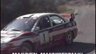 Mitsubishi Lancer Evolution - Rally Art - the best of - WRC 1998