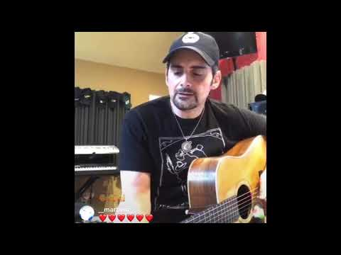 Brad Paisley Performs She's Everything. Instagram Live