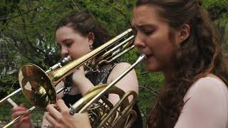 "Project eGALitarian brass trio - ""Bayou Boardwalk"" by Gina Gillie"