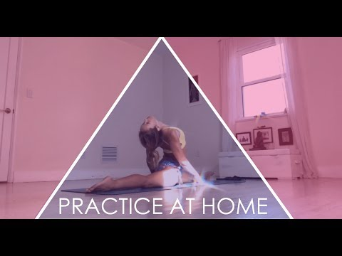Ashtanga Yoga at Home, just for Demo and Inspiration, a slice of Fourth Series, Advanced B