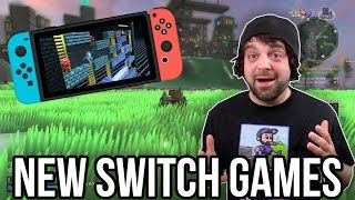 4 GOOD NEW Nintendo Switch Games; and 1 BAD GAME! | RGT 85