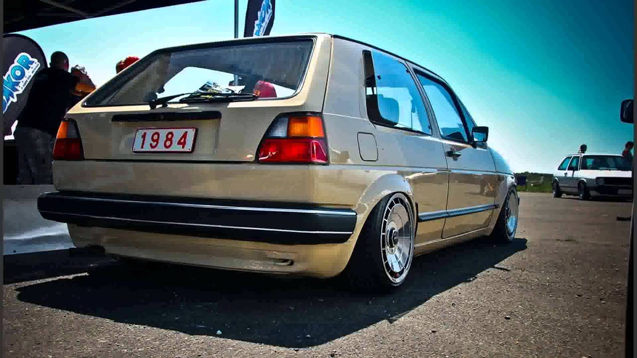 Vw Golf Mk2 Tuning Cars Youtube