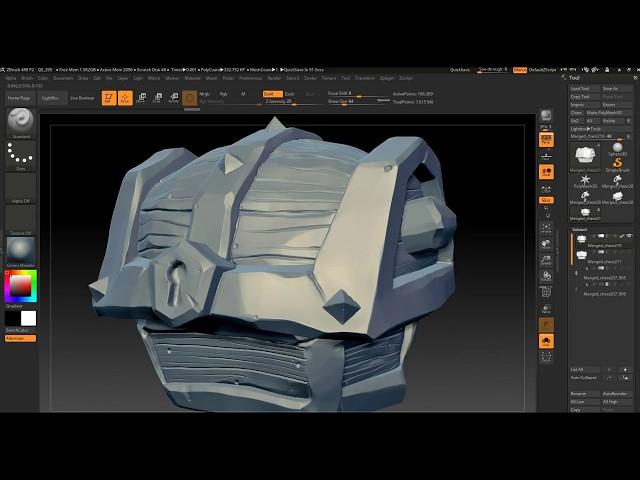 Retopology in 3DCoat Part 01