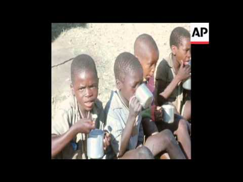SYND 29-7-72  ABANDONED TANGWENA CHILDREN REPATRIATED