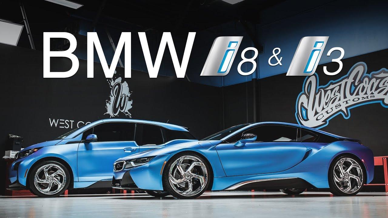 TWIN Matte BMW I8 AND I3 Lexani Wheels (West Coast Customs)