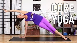 core strength yoga 15 minute abs core workout