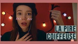 ASMR | Roleplay: La pire coiffeuse s'occupe de tes cheveux...