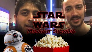 Watching Star Wars - The Last Jedi (Midnight Cinema Screening)