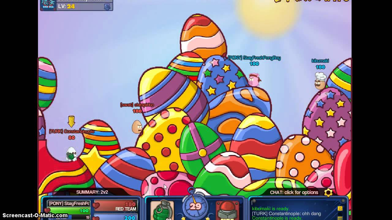 bad eggs online 2 how to get the easter bunny shell youtube - Images Of Easter Eggs 2