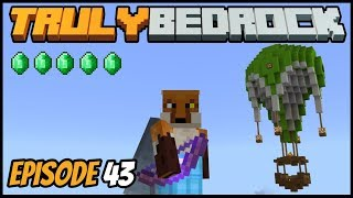 My New Emerald Shop And Making Deals - Truly Bedrock (Minecraft Survival Let's Play) Episode 43