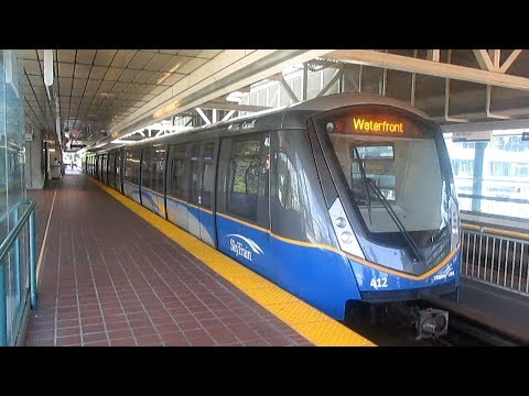 TransLink Expo Line Skytrain - Waterfront to King George (2017)