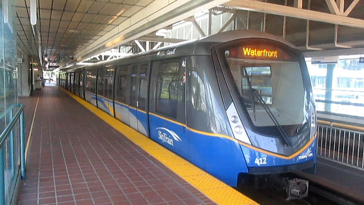 Translink Expo Line Skytrain Waterfront To King George