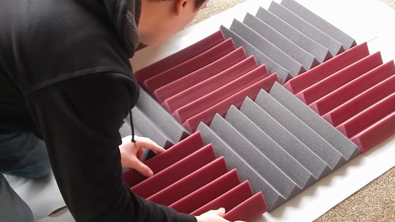 DIY - Acoustic foam panel tutorial