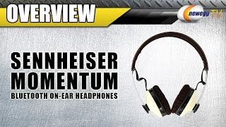Sennheiser 2nd Gen Momentum On Ear Wireless Headphones Overview - Newegg TV
