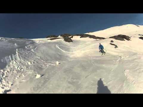 Spiazzi di gromo, valseriana (bg), sciare nel cuore del parco delle orobie bergamasche (31/3/16)