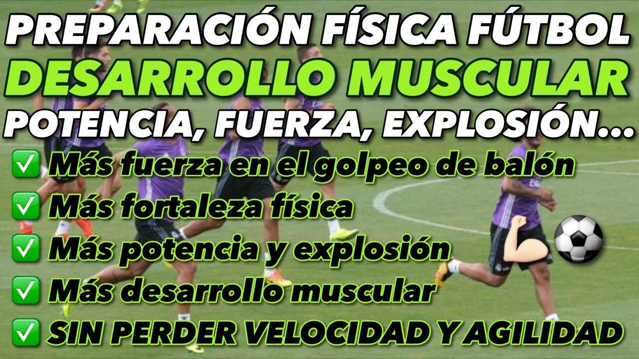 Potencia piernas futbol ejercicios