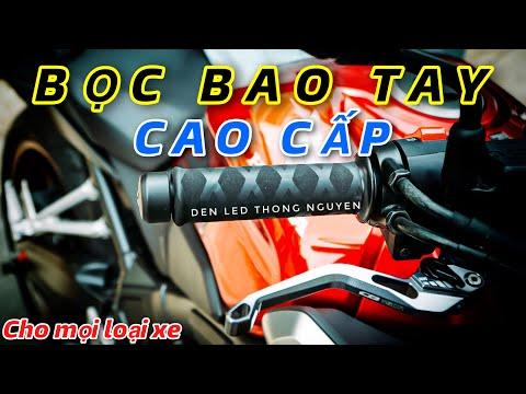 REVIEW | BỌC BAO TAY CAO CẤP DÀNH CHO MỌI LOẠI XE MOTO VÀ XE PHỔ THÔNG | ĐÈN LED THỐNG NGUYỄN