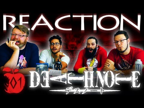 "Death Note Episode 1 REACTION!! ""Rebirth"""