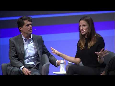 Jennifer Garner and Mark Shriver, Save the Children