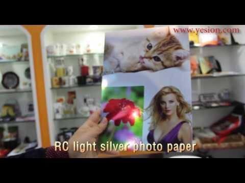 rc metal photo  paper