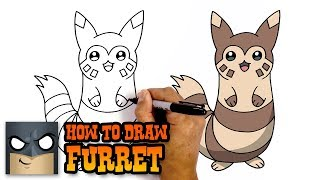 How to Draw Furret | Pokemon | Awesome Step-by-Step Tutorial