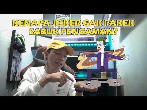 Klasifikasi Joker gak pakek Sabuk Pengaman - Q&A