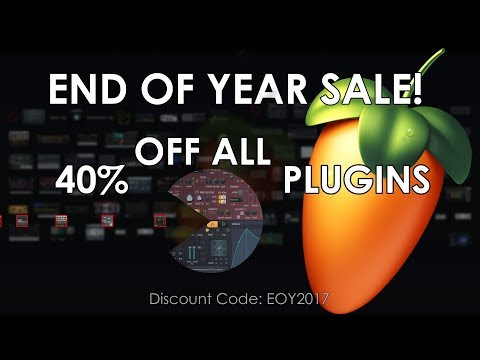 EOY SALE | 40% OFF ALL PLUGINS (Until January 5 2018)