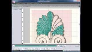 Уроки PE-Design: Создание детали орнамента