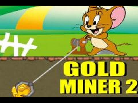 tom and jerry gold miner game 2 player