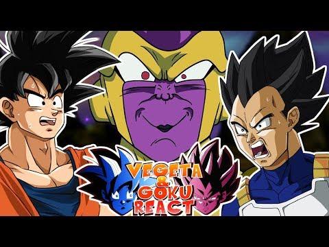 Cover Lagu Vegeta And Goku React To Get On My Power Level - Dragon Ball Super Parody STAFABAND